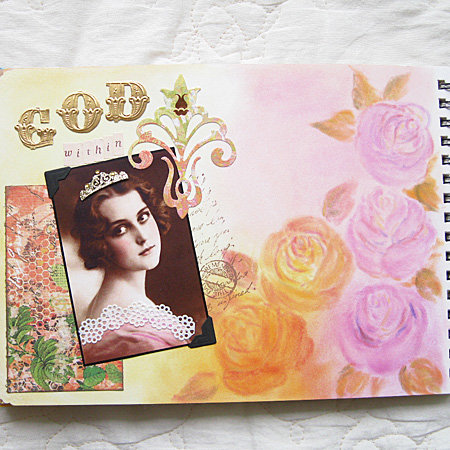 Art Journal God Within 1