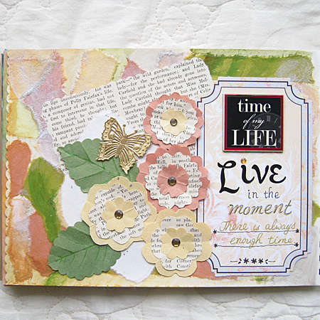 Art Journal: Live in the Moment 1