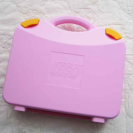 LEGO Pink Suitcase 2