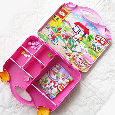 LEGO Pink Suitcase 3