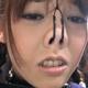 「鼻フックと鼻責めのAV」のサンプル画像